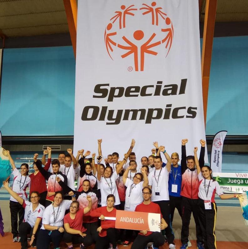 colaborar con Special Olympics Andalucía