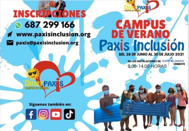 ¡Pasa este verano con Paxis Inclusión!